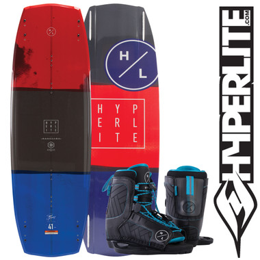 Hyperlite Baseline 136cm Wakeboard Package with Remix Boots 2019