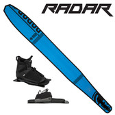 "Radar Butter Knife Slalom 67"" with Prime Binding & Adj Rear Toe Plate 2018 ON SALE!"