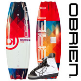 O'Brien Siren 135cm Womens Wakeboard Package With Nova Bindings