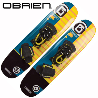 O'Brien Pro Trac Trick Combo Skis with X-9 Bindings & Rear Toe Straps
