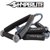 Hyperlite 20' Wakesurf Rope with Handle - GREY