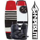 Hyperlite Franchise 138cm Wakeboard Package with Formula Boots