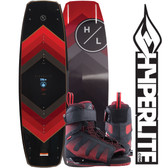 Hyperlite Murray 139cm Wakeboard Package with Session Boots