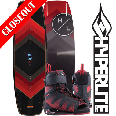 Hyperlite Murray 144 cm Wakeboard Package with Session Boots 2019 ON SALE!