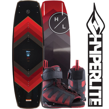 Hyperlite Murray 144 cm Wakeboard Package with Session Boots