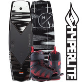 Hyperlite Kruz 144 cm Wakeboard with Session Boots