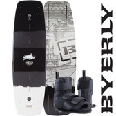 Byerly Brigade 144cm Wakeboard with Formula Boots