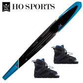 "HO Sports Omni 69"" Slalom Ski with Double FreeMax  Boots 2019"