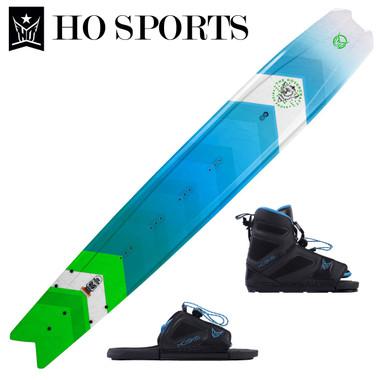 """HO Sports Hovercraft 65"""" Slalom Ski with FreeMax Front Boot & Adj Rear Toe 2019"""