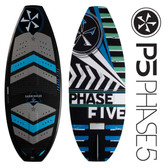 "PHASE 5 Hammerhead 55"" Premium Skim Style Wakesurfer"