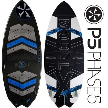 "PHASE 5 Model X 53"" Premium Skim Style Wakesurfer"