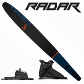 "Radar Union Slalom 67"" with Prime Binding & Adj Rear Toe Plate"
