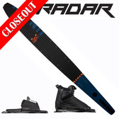 "Radar Union Slalom 67"" with Prime Binding & Adj Rear Toe Plate ON SALE!"