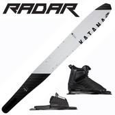 "Radar Katana Slalom 69"" with Prime Binding & Adj Rear Toe Plate"