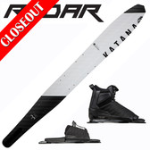 "Radar Katana Slalom 69"" with Prime Binding & Adj Rear Toe Plate ON SALE!"