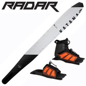 "Radar Katana Slalom 69"" with Vector Front Boot & Adj Rear Toe Plate"