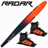 "Radar Alloy Senate 69"" Slalom with Double Vector Boots"