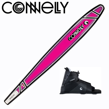 """Connelly Aspect 65"""" Women's Slalom with Swerve Front Boot & RTS"""