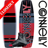 Connelly Reverb 141 cm Wakeboard Package with Empire Bindings - 2019 ON SALE!