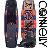 Connelly The Standard 139cm Wakeboard Package with Draft Boots
