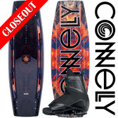 Connelly The Standard 139cm Wakeboard Package with Draft Boots - 2019 ON SALE