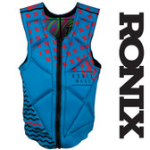 Ronix Party Athletic Cut Reversible Impact Jacket Front