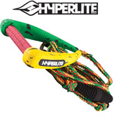 Hyperlite PRO 25' Wakesurf Rope with Handle - RASTA ONLY