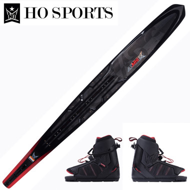 """HO Sports Syndicate Omni 67"""" Slalom Ski with Double XMax Boots 2019 ON SALE!"""