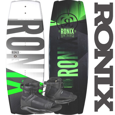 Ronix Vault 139 cm Wakeboard Package with Divide Bindings