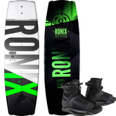 Ronix Vault 134 cm Wakeboard Package with Divide Bindings