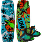 Ronix Vision 120 cm Wakeboard Package with Vision Boots
