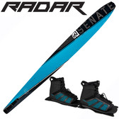 "Radar Alloy Senate 67"" Slalom with Double Vector Boots"