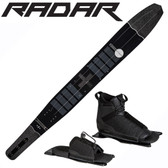 "Radar Butter Knife Slalom 67"" with Prime Binding & Adj Rear Toe Plate"