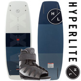 Hyperlite Murray Pro 144 cm Wakeboard Package with Session Boots