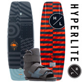 Hyperlite Relapse 141 cm Wakeboard Package with Formula Bindings