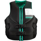 Hyperlite Indy Women's Neo Vest Black/Aqua