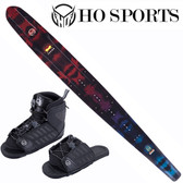 "HO Sports Fusion Freeride 67"" Slalom Ski with FreeMax Front Boot & Adj Rear Toe"