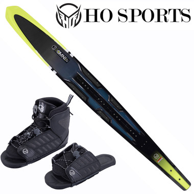 "HO Sports Omni 67"" Slalom Ski with Front FreeMax Front Boot & Adj. Rear Toe"