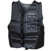 O'Brien Men's Flex V-Back Neo Vest - Silver / Black