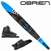 "O'Brien Siege 67.5"" Slalom with Avid Front Boot & Rear Toe Plate"
