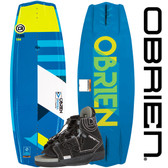 O'Brien Valhalla 138 cm Wakeboard Package with Clutch Bindings