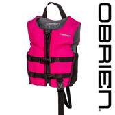O'Brien Girl's Child Flex V-Back Neo Vest