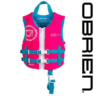 O'Brien Girl's Traditional Child Neo Vest