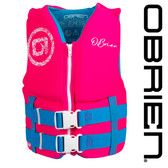 O'Brien Girl's Traditional Youth Neo Vest