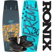 Ronix Supreme 145 cm Wakeboard with Anthem Boots