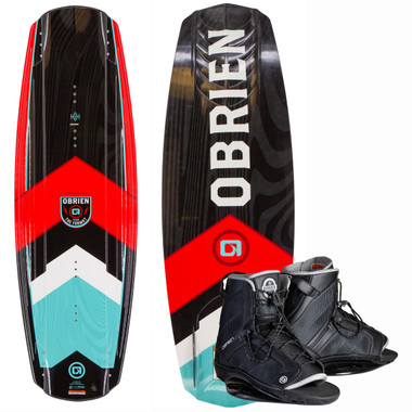 O'Brien Format 142 cm Wakeboard Package with Border Boots