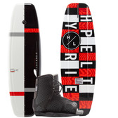 Hyperlite Motive 119 Kid's Wakeboard Package with Remix Boots 2020