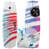 Hyperlite Eden 2.0 135cm Wakeboard Package with Allure Boots