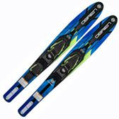 "O'Brien Vortex 65.5"" Combo Skis 2021 - Blue"