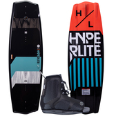 Hyperlite State 2.0 130cm Wakeboard Package with Remix Bindings